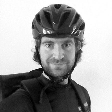 portretfoto fietskoerier martijn rozendal