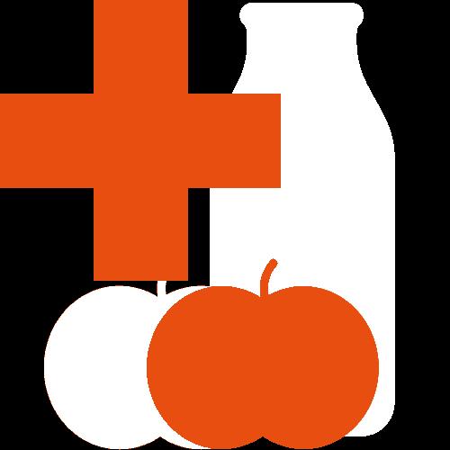 icoon boodschappen en medicatie fietskoeriers zijverdal