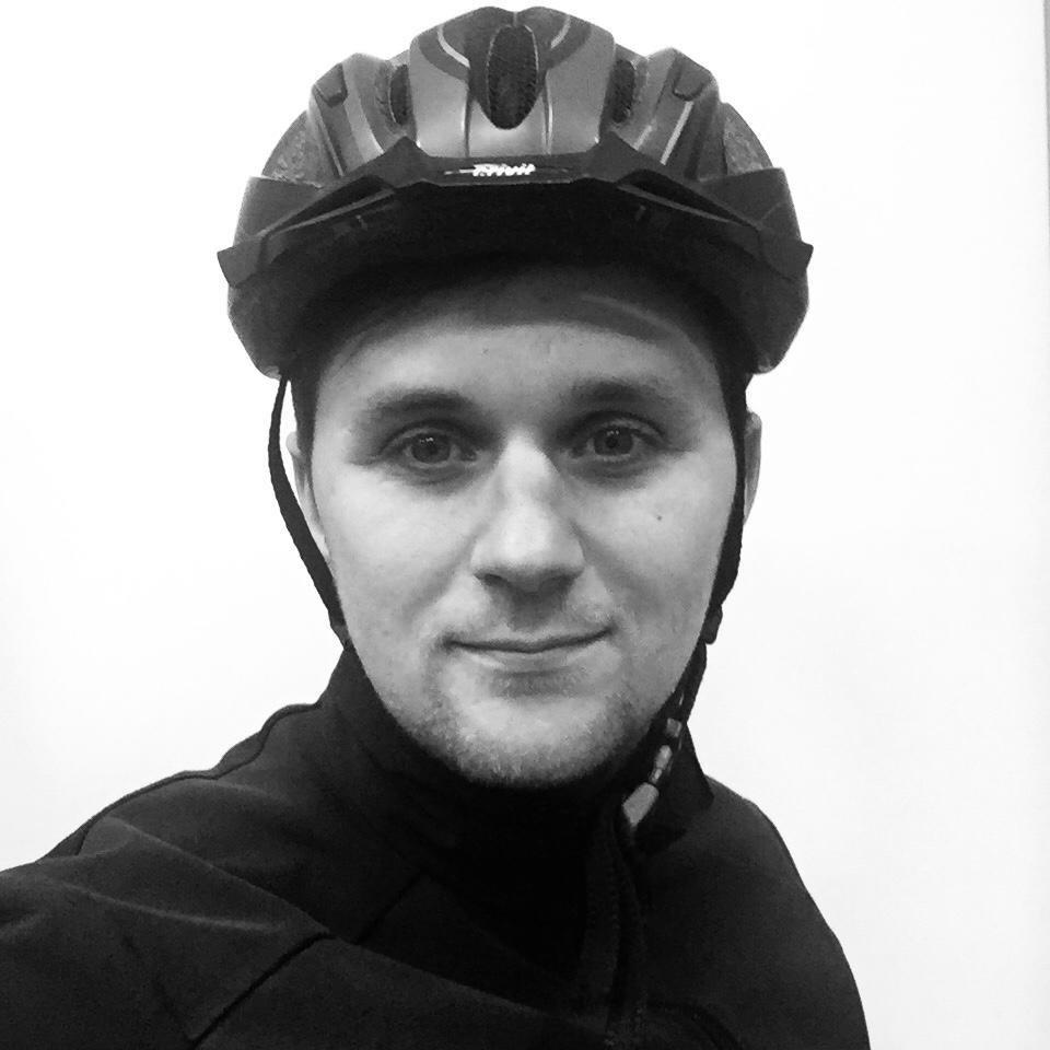 portretfoto fietskoerier stijn klein robbenhaar